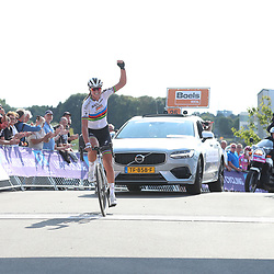 01-09-2018: Wielrennen: Ladies Tour: Sittard <br /> Chantal Blaak wins fifth stage after a solo from 12 km