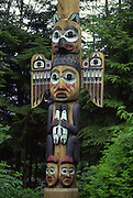 Totem Bight State Park, Ketchikan, Alaska<br />
