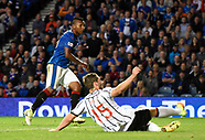 Rangers v Dunfermline Athletic - Betfred Cup - Second Round - 9 Aug 2017