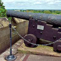 HMS Lutine Cannon at Windsor Castle in Windsor, England<br />