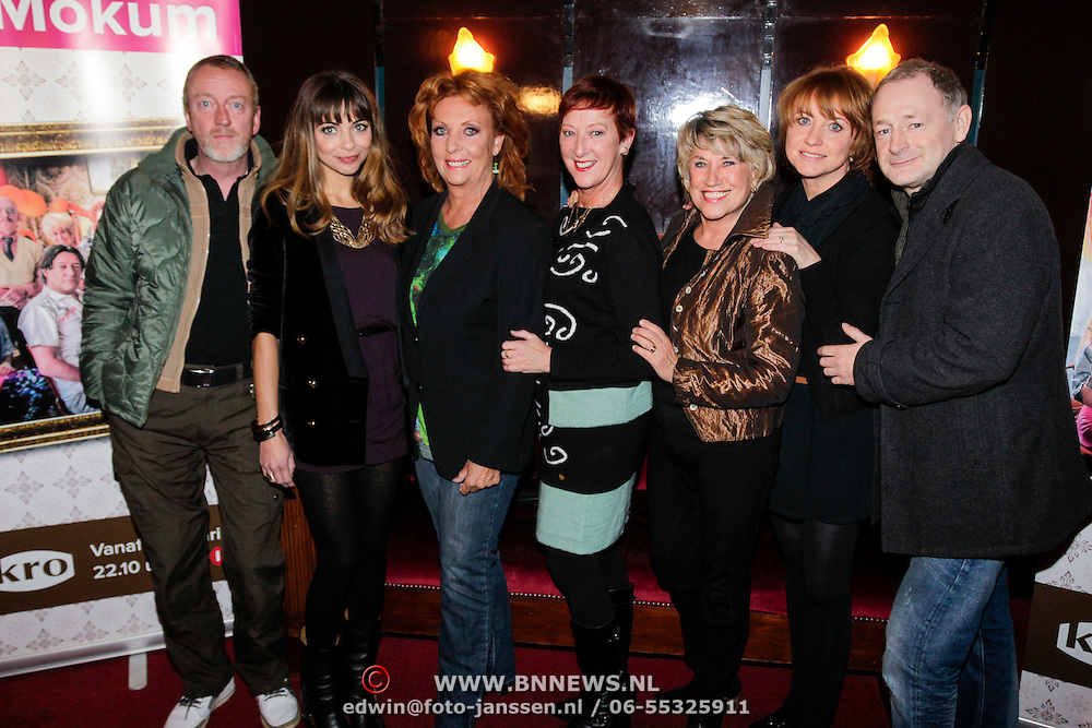 NLD/Amsterdam/20121111- Perspreview 't Schaep in Mokum, Ton Kas, Georgina Verbaan, Carry Tefsen, Loes Luca, Jenny Arean, Bianca Krijgsman en Laus Steenbeeke