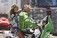 MOTORSPORT - DAKAR ARGENTINA CHILE 2010 - STAGE 10 - LA SERENA (ARG) / SANTIAGO (ARG) - 12/01/2010- PHOTO : FREDERIC LE FLOC H / DPPI<br /> PAL ULLEVALSETER  ( NOR ) - KTM   - AMBIANCE - PORTRAIT