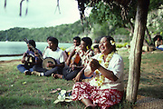 Tongan Feast, Vavau Island, Tonga, NMR, (editorial use only, no model release)<br />