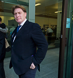 © Licensed to London News Pictures. 27/05/2015. London, UK. Former member of parliament for Falkirk West and Falkirk ERIC JOYCE arriving at Westminster Magistrates Court in London where he is due to be sentenced after being found guilty of two counts of common assault. Joyce attacked two teenage boys at a shop in Chalk Farm, north London, on October 17. Photo credit: Ben Cawthra/LNP
