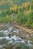 McDonald Creek, Glacier National Park Montana USA