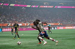 August 1, 2018 - Atlanta, Georgia, United States - MLS All-Star midfielder ALBERTH ELIS, 16 during the 2018 MLS All-Star Game at Mercedes-Benz Stadium in Atlanta, Georgia.  Juventus F.C. defeats  MLS All-Stars defeat  1 to 1  (Credit Image: © Mark Smith via ZUMA Wire)