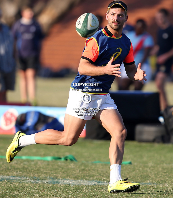 DURBAN, SOUTH AFRICA - JUNE 09: Willie le Roux of South Africa during the South African National rugby team training session at Northwood High School on June 09, 2014 in Durban, South Africa. (Photo by Steve Haag/Gallo Images)