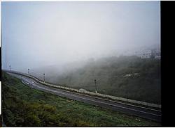 Vejer, Andalucia, Spain<br /> The morning fog in the village of Vejer.<br /> &copy;Carmen Secanella