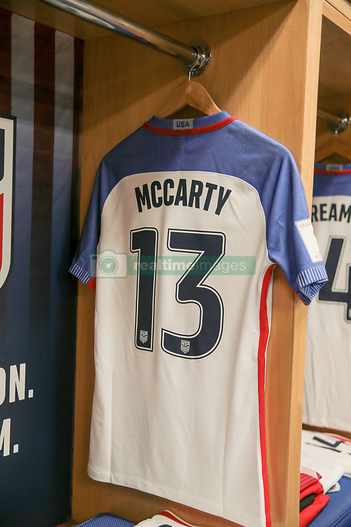 September 1, 2017 - Harrison, NJ, USA - Harrison, N.J. - Friday September 01, 2017: Dax McCarty during a 2017 FIFA World Cup Qualifying (WCQ) round match between the men's national teams of the United States (USA) and Costa Rica (CRC) at Red Bull Arena. (Credit Image: © John Dorton/ISIPhotos via ZUMA Wire)