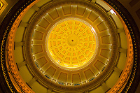 Rotunda of the Colorado State Capitol, Denver, Colorado USA