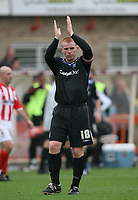 Photo: Rich Eaton.<br /> <br /> Cheltenham Town v Nottingham Forest. Coca Cola League 1. 13/10/2007. Forest's Neil Lennon at the the end of the game