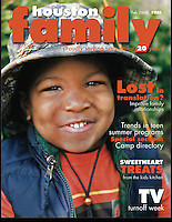 Houston Family Cover February 2008