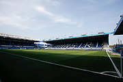 A general view of Hillsborough the ground of Sheffield Wednesday before the EFL Sky Bet Championship match between Sheffield Wednesday and Bristol City at Hillsborough, Sheffield, England on 22 April 2019.