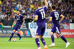 Amir Dervisevic of NK Maribor during 2nd Leg football match between NK Maribor and FK Partizani Tirana in 1st Qualifying Round of UEFA Europa League 2018/18, on July 19, 2018 in Ljudski vrt, Maribor, Slovenia. Photo by Urban Urbanc / Sportida