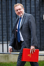 © Licensed to London News Pictures. 19/04/2016. London, UK. Scottish Secretary DAVID MUNDELL attending a cabinet meeting in Downing Street on Tuesday, 19 April 2016. Photo credit: Tolga Akmen/LNP