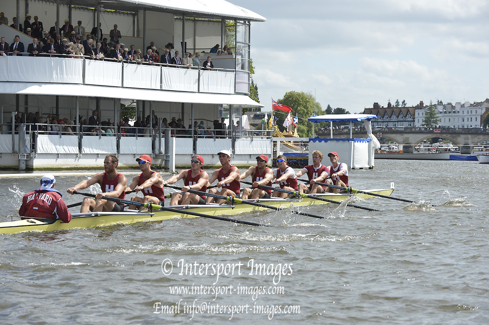 Henley, GREAT BRITAIN. Ladies Challenge Cup . Harvard University, USA. during their Friday heat.  2012 Henley Royal Regatta. ..Friday  16:27:09  29/06/2012. [Mandatory Credit, Peter Spurrier/Intersport-images]...Rowing Courses, Henley Reach, Henley, ENGLAND . HRR.