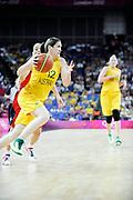 DESCRIZIONE : Basketball Jeux Olympiques Londres Demi finale<br /> GIOCATORE : Snell Belinda AUS<br /> SQUADRA : AUSTRALIE Femme<br /> EVENTO : Jeux Olympiques<br /> GARA : USA AUSTRALIE<br /> DATA : 09 08 2012<br /> CATEGORIA : Basketball Jeux Olympiques<br /> SPORT : Basketball<br /> AUTORE : JF Molliere <br /> Galleria : France JEUX OLYMPIQUES 2012 Action<br /> Fotonotizia : Jeux Olympiques Londres demi Finale Greenwich Arena<br /> Predefinita :