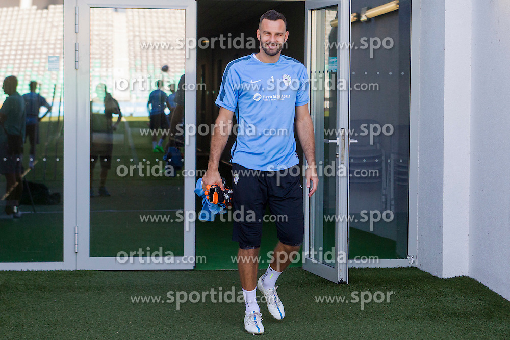 Jasmin Handanovic during practice session of Slovenian National Football Team before Euro 2016 Qualifications match against Switzerland, on September 1, 2015 in SRC Stozice, Ljubljana, Slovenia. Photo by Urban Urbanc / Sportida