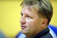 Håndball, eliteserien herrer 2002-2003. Bård Tonning, trener for Sandefjord
