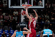 Tarczewski Kaleb Erick <br /> A X Armani Exchange Olimpia Milano - Vanoli Cremona <br /> Basket Serie A LBA 2019/2020<br /> Milano 09 February 2020<br /> Foto Mattia Ozbot / Ciamillo-Castoria