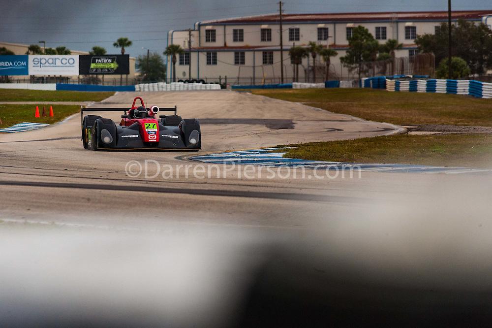 #27 ONE Motorsports Elan DP-02: Andrew Evans