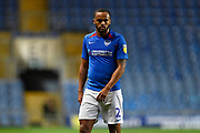 Anton Walkes (2) of Portsmouth during the Leasing.com EFL Trophy match between Oxford United and Portsmouth at the Kassam Stadium, Oxford, England on 8 October 2019.