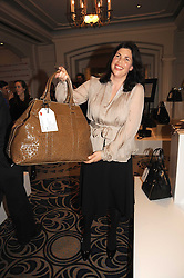 KIRSTIE ALLSOPP at the In Style Handbag Auction is association with Revlon raising money for the Rainbow Trust children's charity held at the Berkeley Hotel, Knightsbridge, London on 4th November 2008.