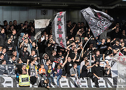 16.02.2019, TGW Arena, Pasching, AUT, OeFB Uniqa Cup, LASK vs SKN St. Pölten, Viertelfinale, im Bild Fans des LASK // during the quaterfinal match of the ÖFB Uniqa Cup between LASK and SKN St. Pölten at the TGW Arena in Pasching, Austria on 2019/02/16. EXPA Pictures © 2019, PhotoCredit: EXPA/ Reinhard Eisenbauer
