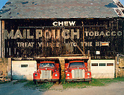 Americana.<br /> <br /> Mailpouch barn, eastern Ohio.