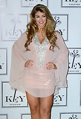NOV 04 2014 Amy Willerton announced as Key Fashions new face, London,
