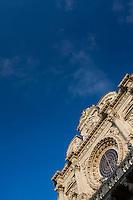 Santa Croce basilica in the Lecce historical centre.