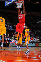 Ohio State forward Dallas Lauderdale #52 during the 2K Sports Classic at Madison Square Garden. (Mandatory Credit: Delane B. Rouse/Delane Rouse Photography)