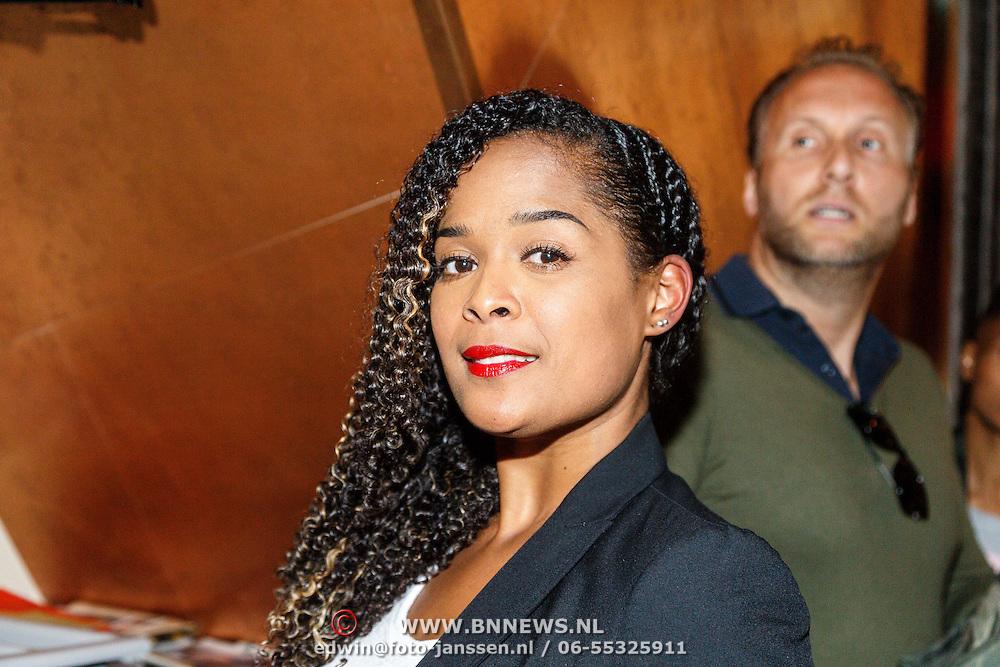 NLD/Amsterdam/20150604 - Boekpresentatie advocaat Mark Teurlings, Chaira Borderslee