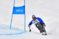 MICHIELETTO Manuel, LW11, ITA, Men's Giant Slalom at the WPAS_2019 Alpine Skiing World Championships, Kranjska Gora, Slovenia