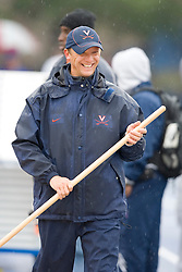 Virginia Cavaliers head coach Randy Bungard.  The University of Virginia Track and Field team hosted the 2007 Lou Onesty Invitational Track Meet at the University of Virginia in Charlottesville, VA on April 14, 2007.