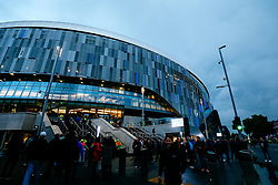 General View outside the Tottenham Hotspur Stadium - Rogan/JMP - 01/10/2019 - FOOTBALL - Tottenham Hotspur Stadium - London, England - Tottenham Hotspur v Bayern Munich - UEFA Champions League Group B.
