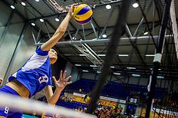 23-08-2017 NED: World Qualifications Greece - Slovenia, Rotterdam<br /> Evangelia Merteki #9 of Greece<br /> Photo by Ronald Hoogendoorn / Sportida