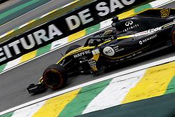 November 9, 2018 - Sao Paulo, Brazil - Motorsports: FIA Formula One World Championship 2018, Grand Prix of Brazil World Championship;2018;Grand Prix;Brazil ,  #27 Nico Hülkenberg (Renault Sport F1 Team) (Credit Image: © Hoch Zwei via ZUMA Wire)