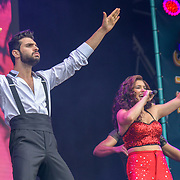 On Your Feet!, by Alexander Dinelaris performs at West End Live 2019 - Day 2 in Trafalgar Square, on 23 June 2019, London, UK.