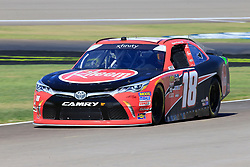 September 14, 2018 - Las Vegas, NV, U.S. - LAS VEGAS, NV - SEPTEMBER 14: Ryan Preece (18) Joe Gibbs Racing (JGR) Toyota Camry during practice for the DC Solar 300 NASCAR Xfinity Series Playoff Race on September 14, 2018, at Las Vegas Motor Speedway in Las Vegas, NV. (Photo by David Griffin/Icon Sportswire) (Credit Image: © David Griffin/Icon SMI via ZUMA Press)