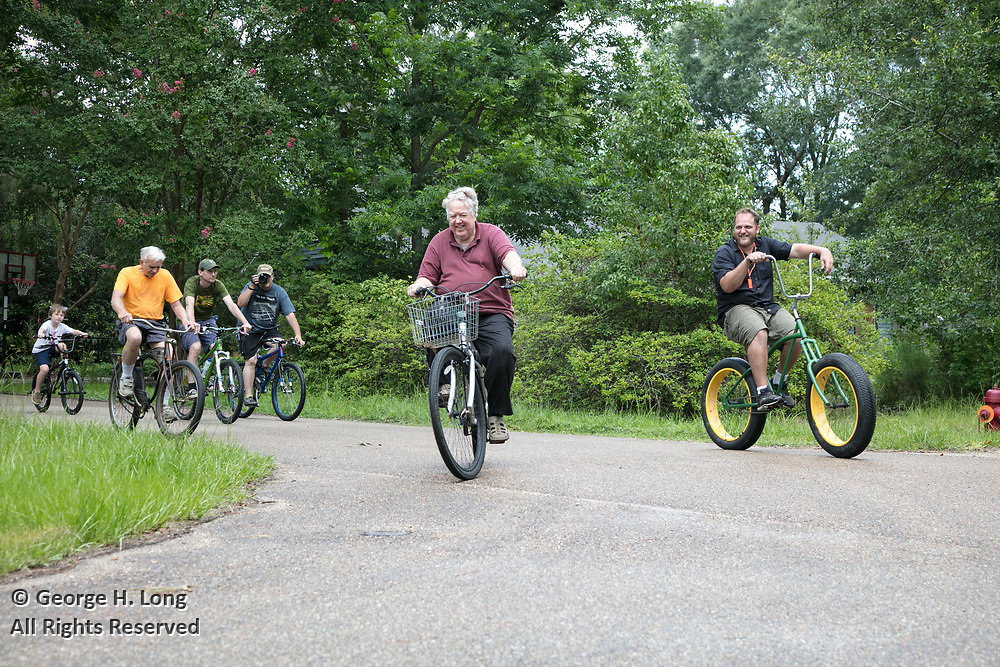 Louisiana Bicycle Festival in Abita Springs on June 16, 2018