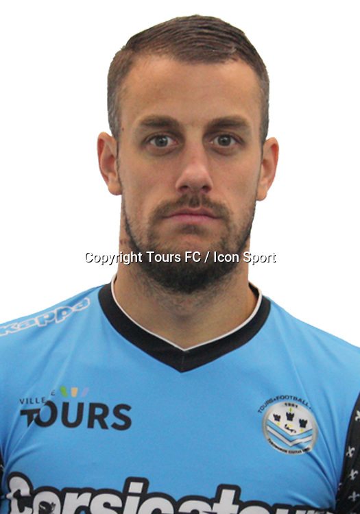 Cyriaque Louvion during the during photoshooting of Tours FC for new season 2017/2018 on October 5, 2017 in Tours, France<br /> Photo : Tours FC / Icon Sport