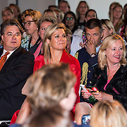 NLD/Eindhoven/20140623 - Koningin Maxima bij bijeenkomst Kracht on Tour<br /> <br /> Queen Maxima attends the Power on Tour meeting in Eindhoven the Netherlands