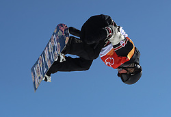 Canada's Spencer O'Brien in the Ladies' Slopestyle Snowboard Final during day three of the PyeongChang 2018 Winter Olympic Games in South Korea.