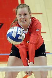 23 September 2017:   during a college women's volleyball match between the Salukis of Southern Illinois and the Illinois State Redbirds at Redbird Arena in Normal IL (Photo by Alan Look)
