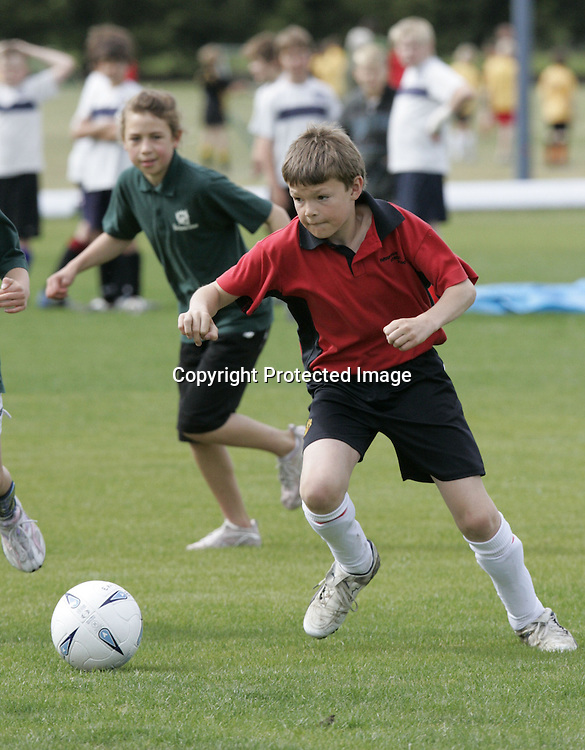 James Anderson playing for the Hampden Street School United soccer team during the schools soccer tournament at Saxton Field. 16 November 2007.
