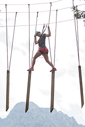 09.07.2015, Moosalm, Lienz. AUT, ÖSV, Medientermin mit ÖSV Technikerinnen, im Bild Carmen Thalmann // during a media event with the OeSV women technic Team at the Moosalm in Lienz, Austria on 2015/07/09. EXPA Pictures © 2015, PhotoCredit: EXPA/ Johann Groder