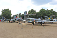 RAF100 Aircraft Tour London, Horse Guards, Whitehall, Westminster, London, UK, 05 July 2018, Photo by Richard Goldschmidt, To celebrate the Centenary of the Royal Air force The RAF100 Aircraft Tour is a public display of iconic RAF aircraft in city locations around the country.