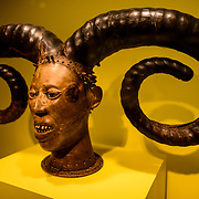 Smithsonian National Museum of African Art Nigerian Mask. An early 20th Century mask from the Efik peoples of Nigeria. The Smithsonian National Museum of African Art was opened at its current location in 1987 as a mostly underground facility behind the Smithsonian Castle on Washington DC's National Mall. It is dedicated to ancient and contemporary African art.