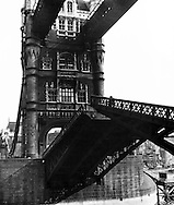 Tower Bridge London 1940s